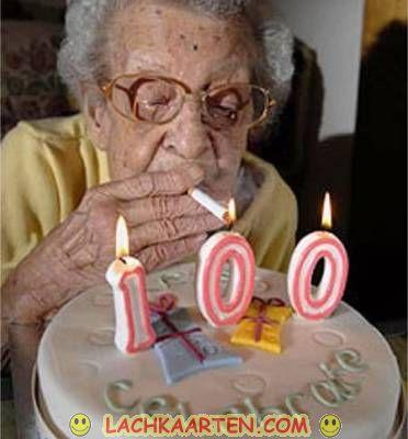 100 jaar LachKaarten.  Verjaardag   100 jaar 100 jaar