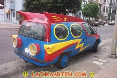 Superman is in het land